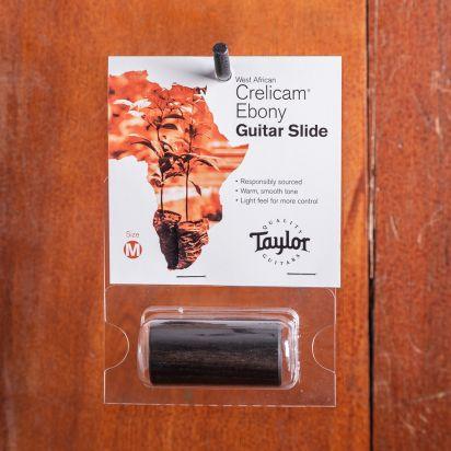 """Taylor Taylor Guitar Slide, Ebony, Medium, 3/4"""""""