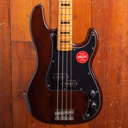 Squier Classic Vibe 1970s Precision Bass Maple Neck Walnut