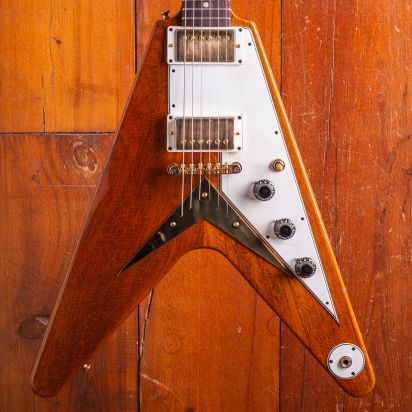 Gibson CS 1958 Flying V Heavy aged Antique Natural
