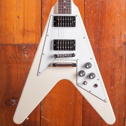 Gibson 1970s Flying V Classic White