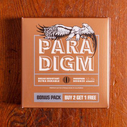 Ernie Ball Paradigm PB 3Pack .12-.54