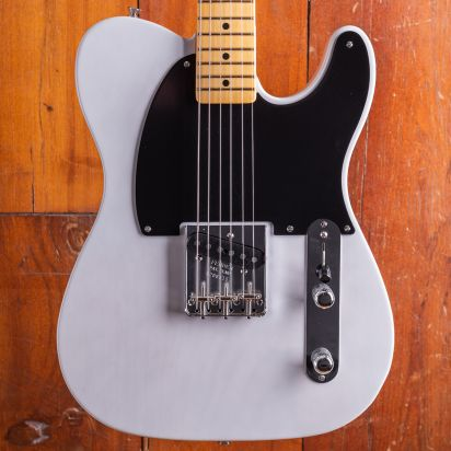 Fender 70th Anniversary Esquire, Maple Neck, White Blonde