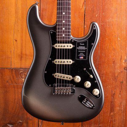 Fender American Professional II Stratocaster Rosewood Fingerboard Mercury