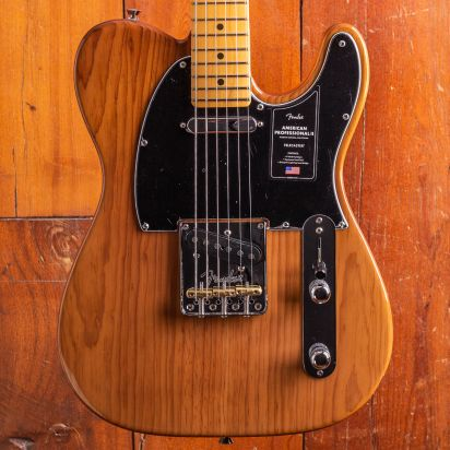 Fender American Professional II Telecaster, Maple Neck, Rustic Pine