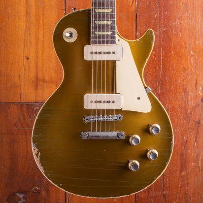 Gibson CS Les Paul Goldtop 1968, P90, Heavy Aged