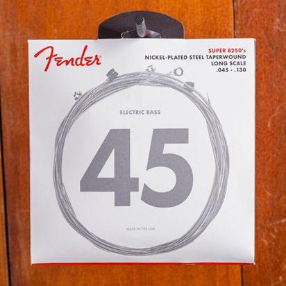 Fender 8250 Bass Strings, Nickel Plated Steel Taper Wound
