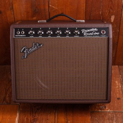 Fender 2020 Limited Edition 1965 Princeton Reverb G12H65 British Sable Guitar Amp Combo
