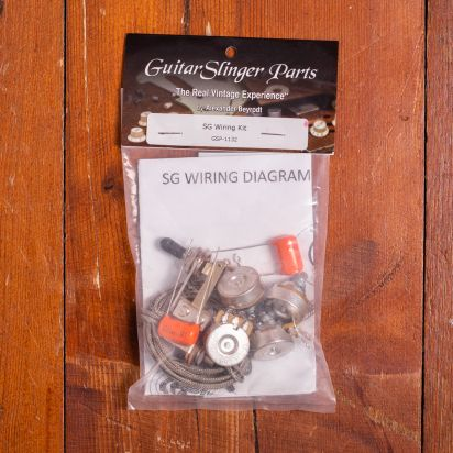 GuitarSlingerParts SG Wiring Kit