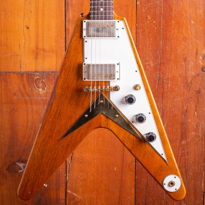 Gibson CS 1959 Mahogany Flying V Heavy Antique Natural