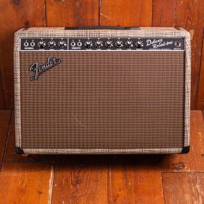 Fender LTD 1965 Deluxe Reverb, Chilewich Bark
