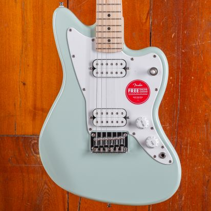Squier Mini Jazzmaster HH, Maple Fingerboard, Daphne Blue