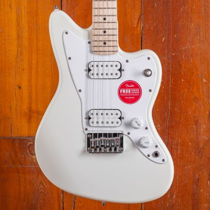 Squier Mini Jazzmaster HH, Maple Fingerboard, Surf Green