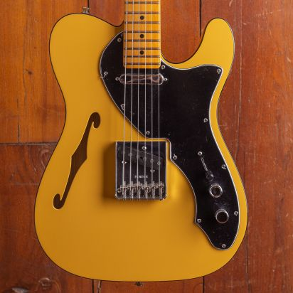 Fender Britt Daniel Tele Thinline, Maple Fingerboard Amarillo Gold