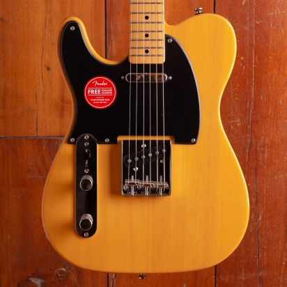 Squier Classic Vibe 1950s Telecaster Left-Handed, Maple Neck Butterscotch