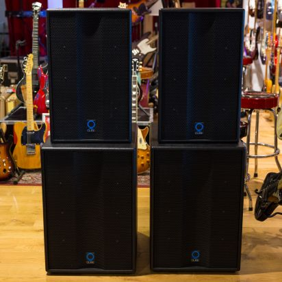 Q-Cube speakercabs and PX3000 amp