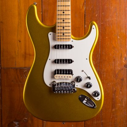 G&L Legacy 1998 Metal Gold birdseye maple neck