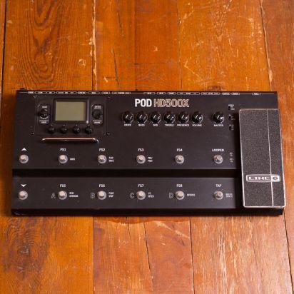 Line 6 POD HD500X Modeling Effects Processor incl Case