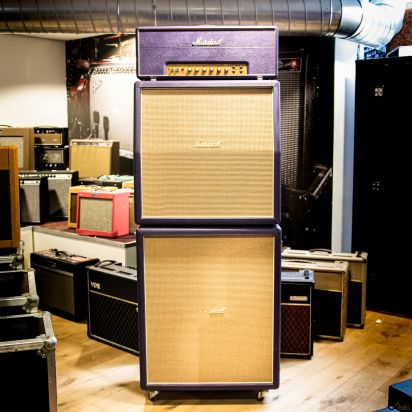 "Marshall Limited Edition Purple ""Hendrix"" Stack Superlead 1959 LTD 100 Watt 1994 Purple"