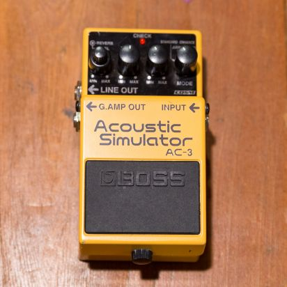 BOSS AC_3 acoustic simulator