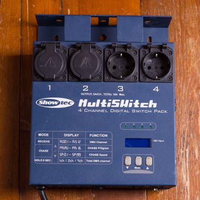 Multiswitch 4 Channel Digigatel Switch Pack