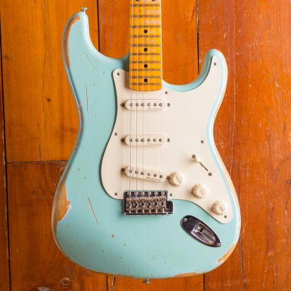 Fender CS 1957 Stratocaster daphne blue