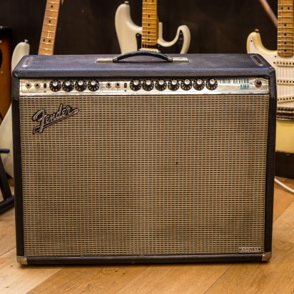 Fender 1971 Twin Reverb Silverface