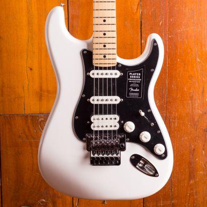 Fender Player Stratocaster Floyd Rose HSS Maple Neck Polar White