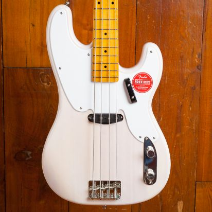 Squier Classic Vibe 1950s Precision Bass Maple Neck White Blond