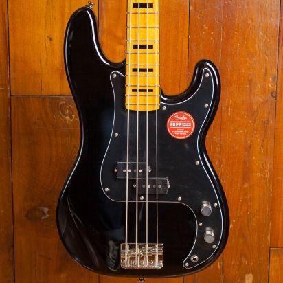 Squier Classic Vibe 1970s Precision Bass Maple Neck Black