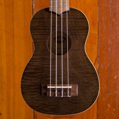 Kala Black Exotic Mahogany Soprano Ukulele