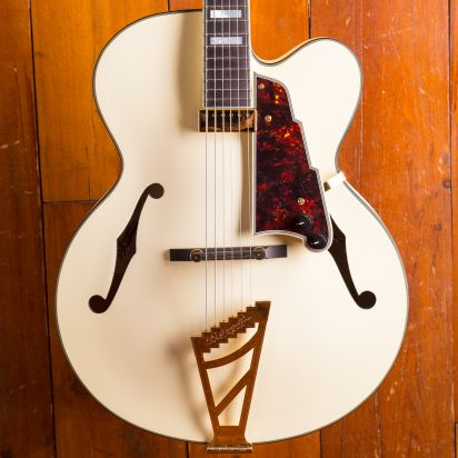 D'Angelico Deluxe EXL-1, Matte White