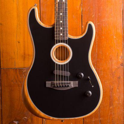 Fender American Acoustasonic Stratocaster Black