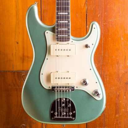 Fender Parallel Universe Vol II Jazz Strat Rosewood Fingerboard Surf Green
