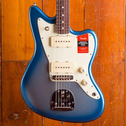 Fender LTD American Pro Jazzmaster, Solid Rosewood Neck, Sky Burst Metallic
