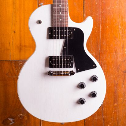 Gibson Les Paul Special Tribute Humbucker Rosewood Fingerboard Worn White
