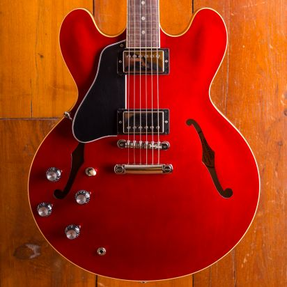 Gibson ES-335 SATIN, Faded Cherry, Left Handed