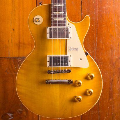 Gibson CS Les Paul 1958 Standard Reissue Rosewood Fingerboard VOS Lemon Burst