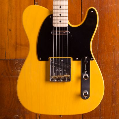 Fender CS 52 Tele NOS Mn Butterscotch Blode