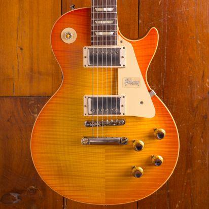 Gibson CS 60th Ann 1960 Les Paul Standard V2 VOS, Orange Lemon Fade