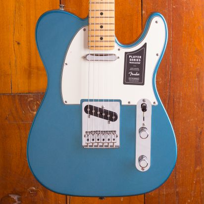 Fender LTD Player Tele Maple neck Lake Placid Blue