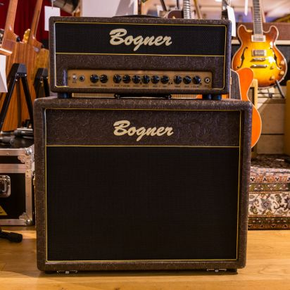 Bogner Shiva 20th with Reverb & 2x12 oversized cab