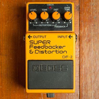 BOSS DF-2 1991 Super Feedbacker and Distortion