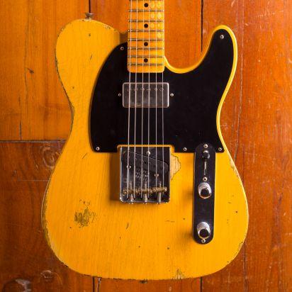 Fender CS LTD 1952 HS TELE Relic - Aged Nocaster Blonde
