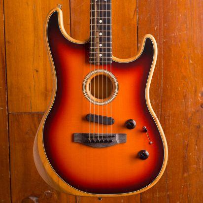 Fender American Acoustasonic Stratocaster 3 Color Sunburst