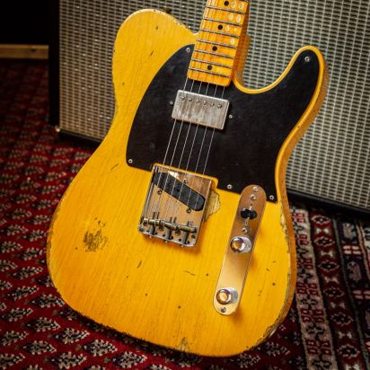 Fender CS LTD 1952 HS TELE Relic - Aged Nocaster Blonde