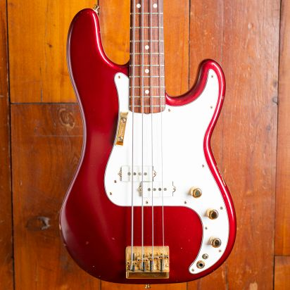 Fender P-Bass Special 1980, Candy Apple Red