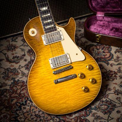 Gibson CS 1959 Les Paul Standard VOS 60th Anniversary Lemon burst