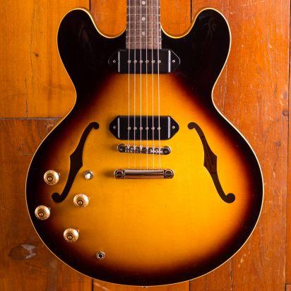 Gibson ES-335 DOT P-90, Vintage Burst, Left Handed
