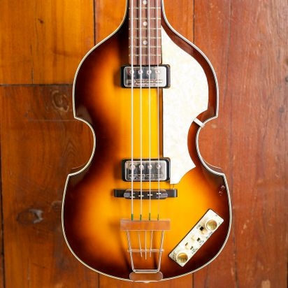 Hofner 500/1 Violin Bass Rosewood Fingerboard  3-Color Sunburst
