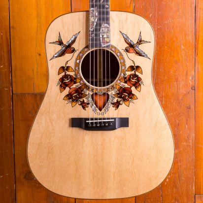 Martin Custom D True love (Sailor Jerry)